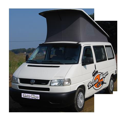 camper-van_volkswagen-t4, Breizh Wagen Lorient